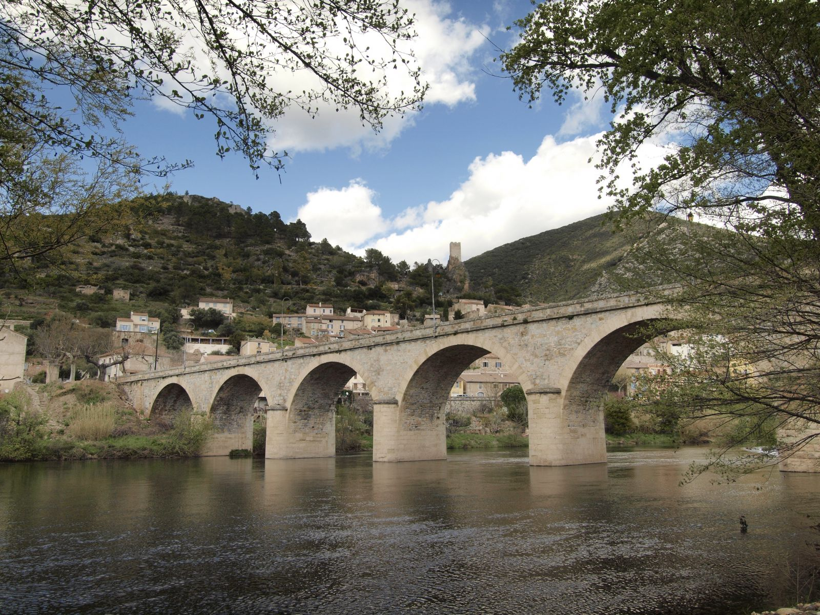 pont sur l'orb roquebrun